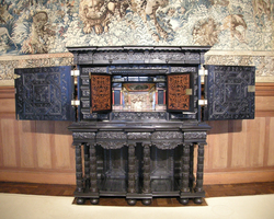 Cabinet d'ébène