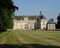 Le château côté marronniers